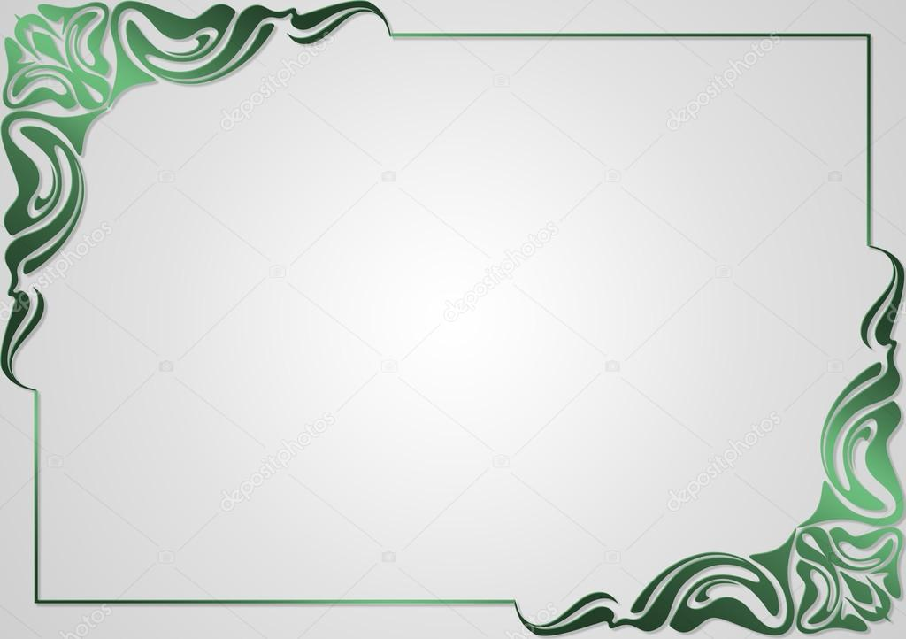 Frame for design greeting cards  \u2014 Stock Vector © lily45 #65993475