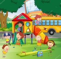 School Playground Cartoon | www.pixshark.com - Images ...