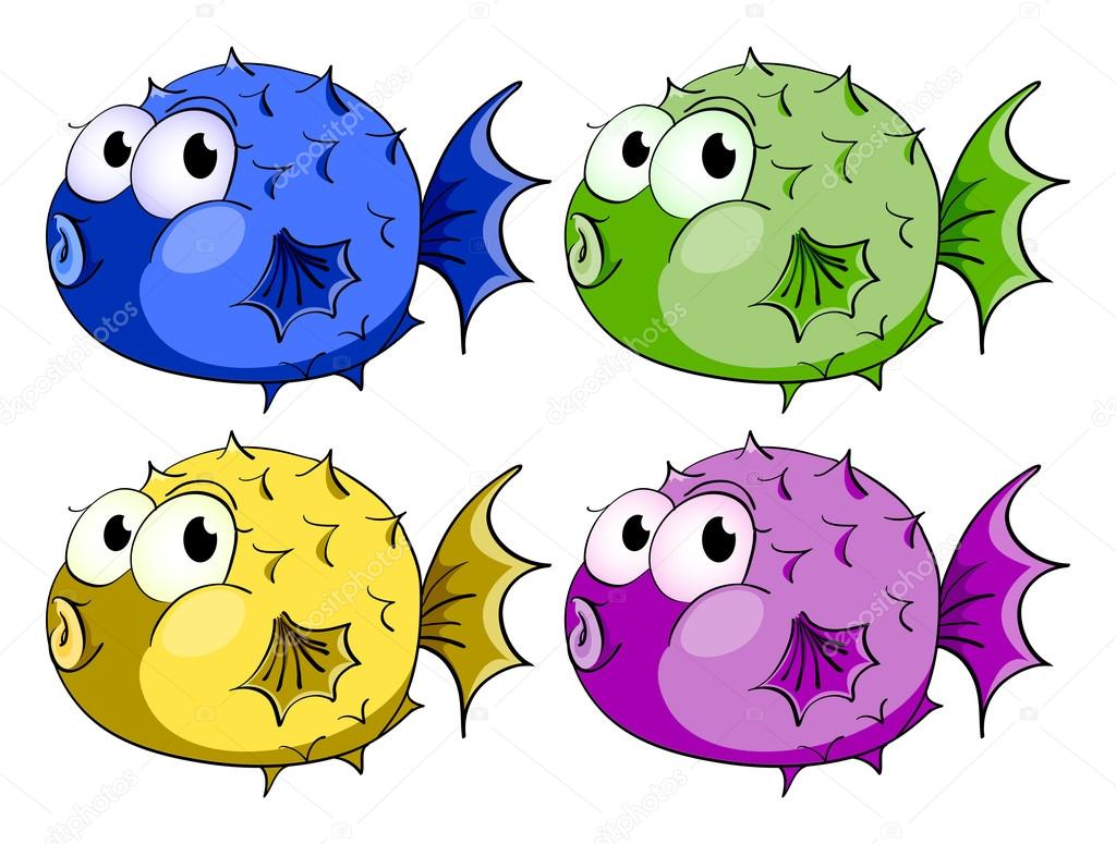 Poissonbulle Poisson Bulle Image Vectorielle Interactimages 56876387