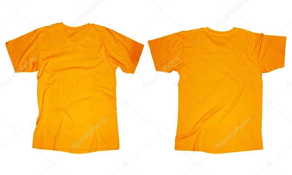 Orange T-Shirt Template \u2014 Stock Photo © airdone #52849313 - t shirt template