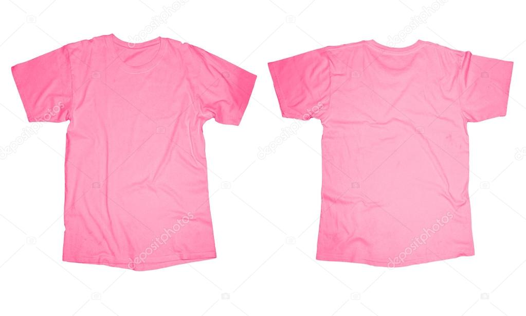 Pink T-Shirt Template \u2014 Stock Photo © airdone #52849317