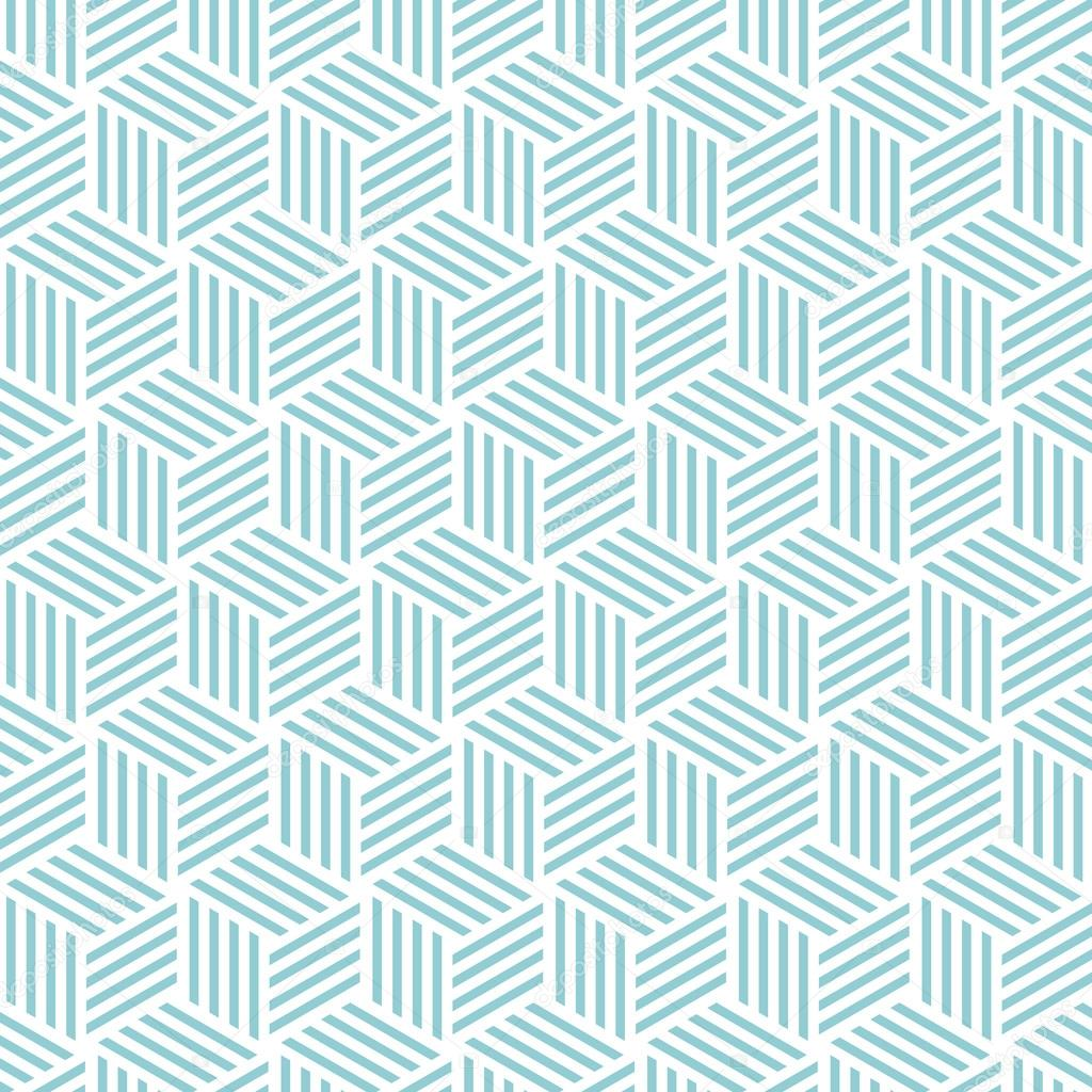 Cute Tribal Patterns Wallpaper Cube Light Pattern Background Vector Background Blue