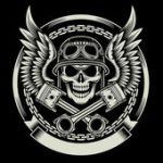 Skull Piston Stock Photos Royalty Free Images Vectors