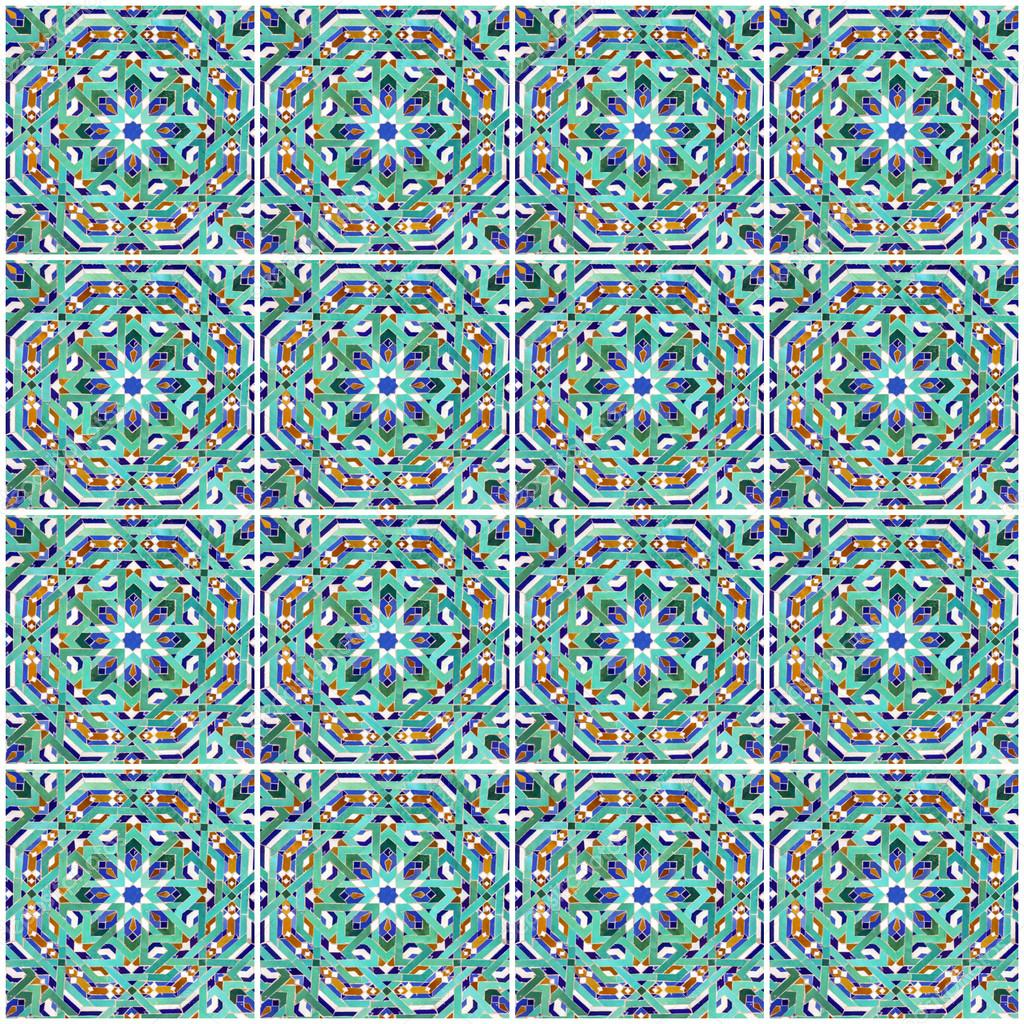 Piastrelle Marocco Moroccan Mosaic Tile Ceramic Decoration Of Mosque