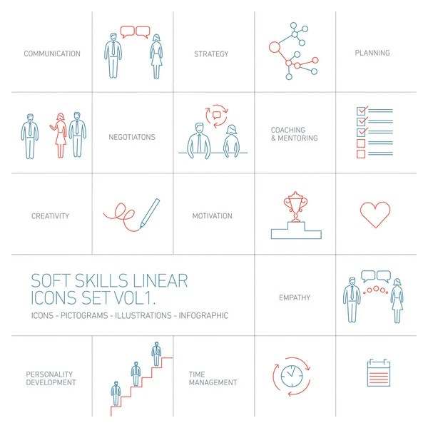 Soft skills Stock Vectors, Royalty Free Soft skills Illustrations - what are soft skills