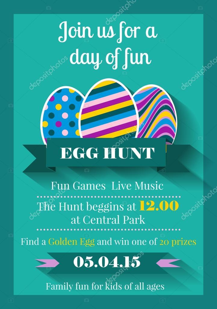 Easter Invitation flyer \u2014 Stock Vector © Mariam2707 #60837739