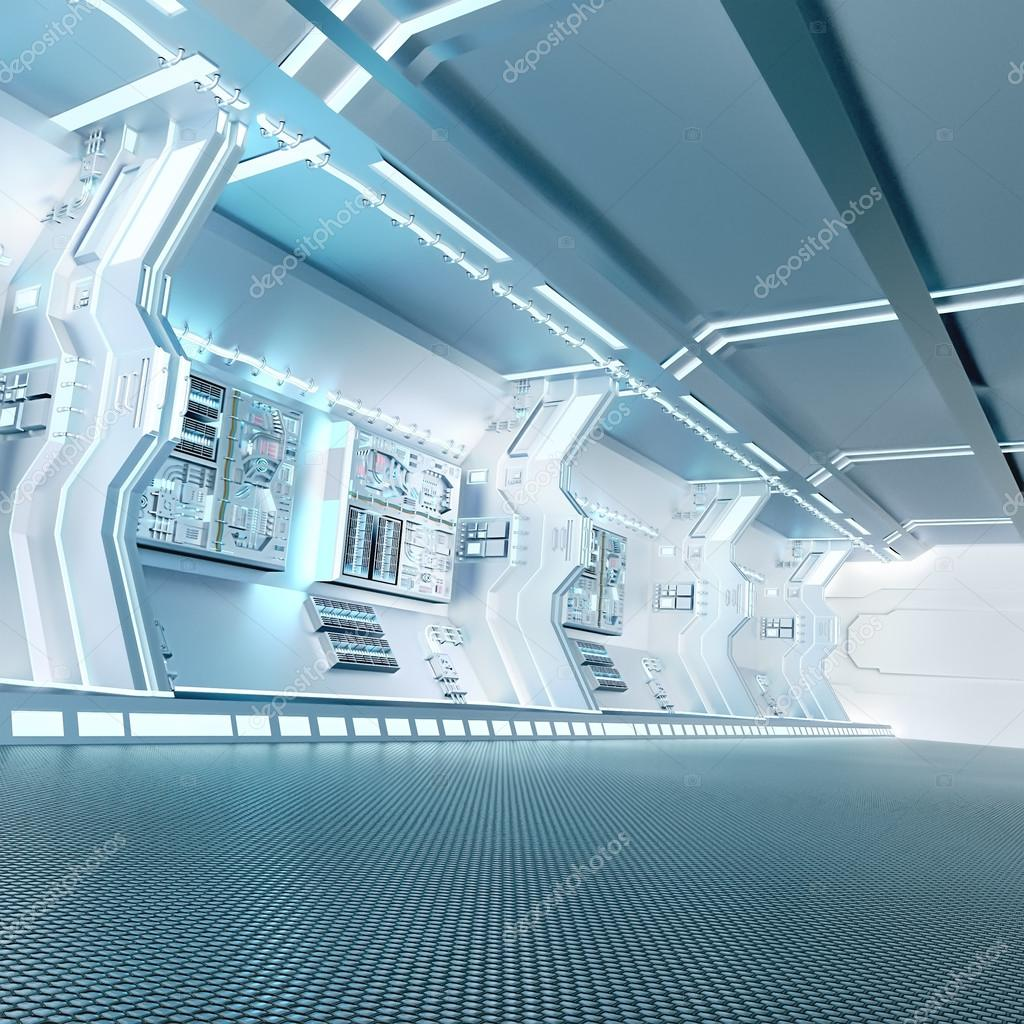 Futuristik Design Futuristic Design Spaceship Interior Stock Photo Vitaliy Sokol