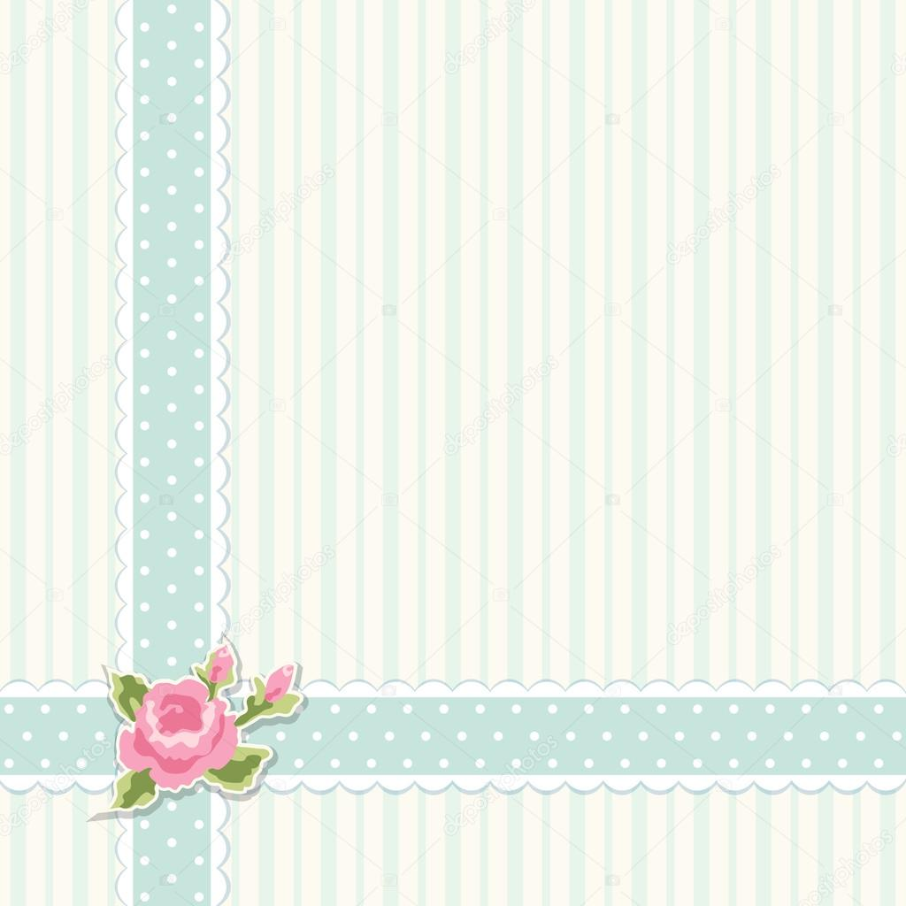 Rose Flower Wallpaper Hd Free Download Classic Vintage Shabby Chic Background Stock Vector