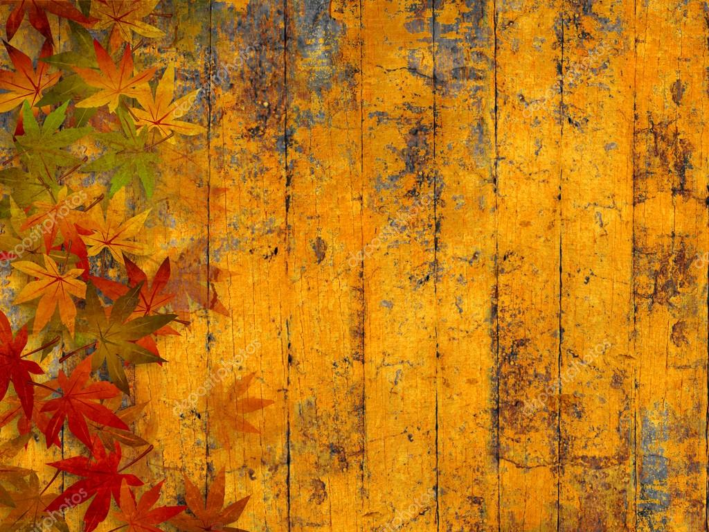 Free Fall Wallpaper Images Fondo Oto 241 O Grunge Con Hojas De Oto 241 O Foto De Stock