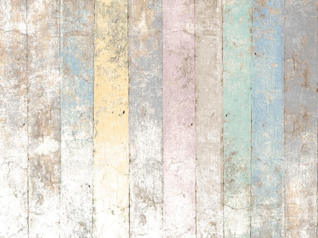 3d Wallpaper For Kitchen Painted Wood Background With Pastel Colors In Soft Vintage