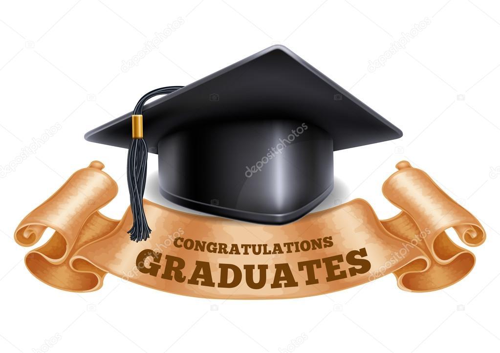 School concept or Congratulation Graduation \u2014 Stock Vector © Pazhyna