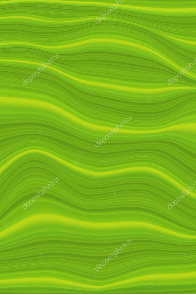 Green waves background \u2014 Stock Vector © Tueris #70783547