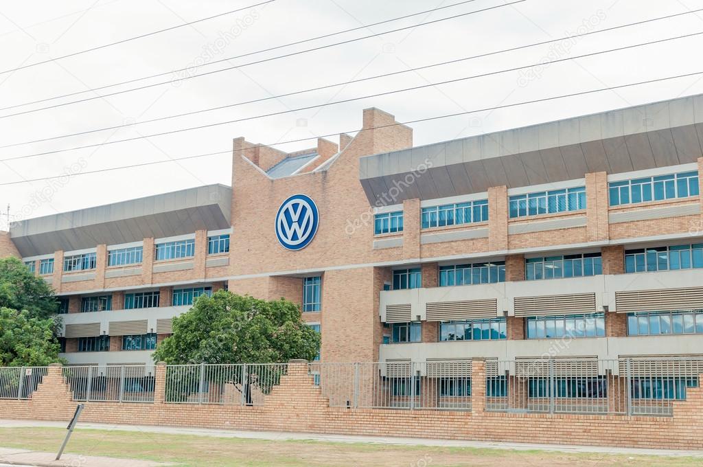Volkswagen offices in Uitenhage \u2013 Stock Editorial Photo © dpreezg