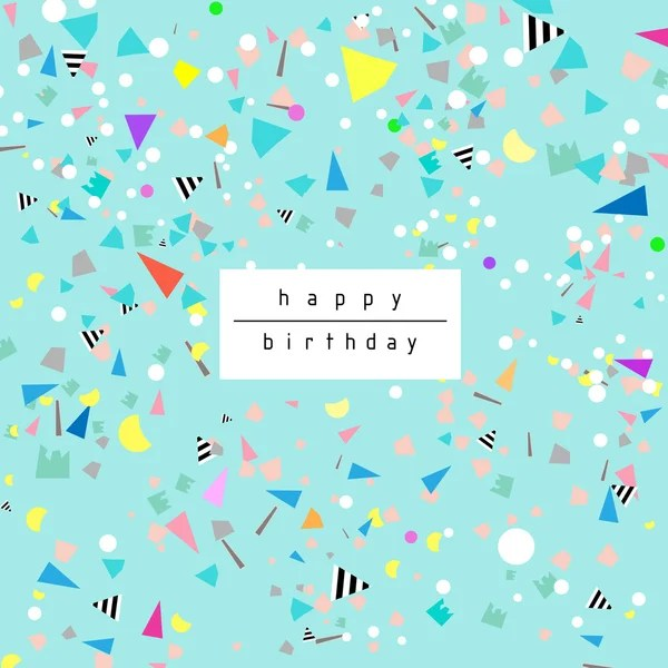 Birthday background with confetti Stock Images Page Everypixel - birthday backround