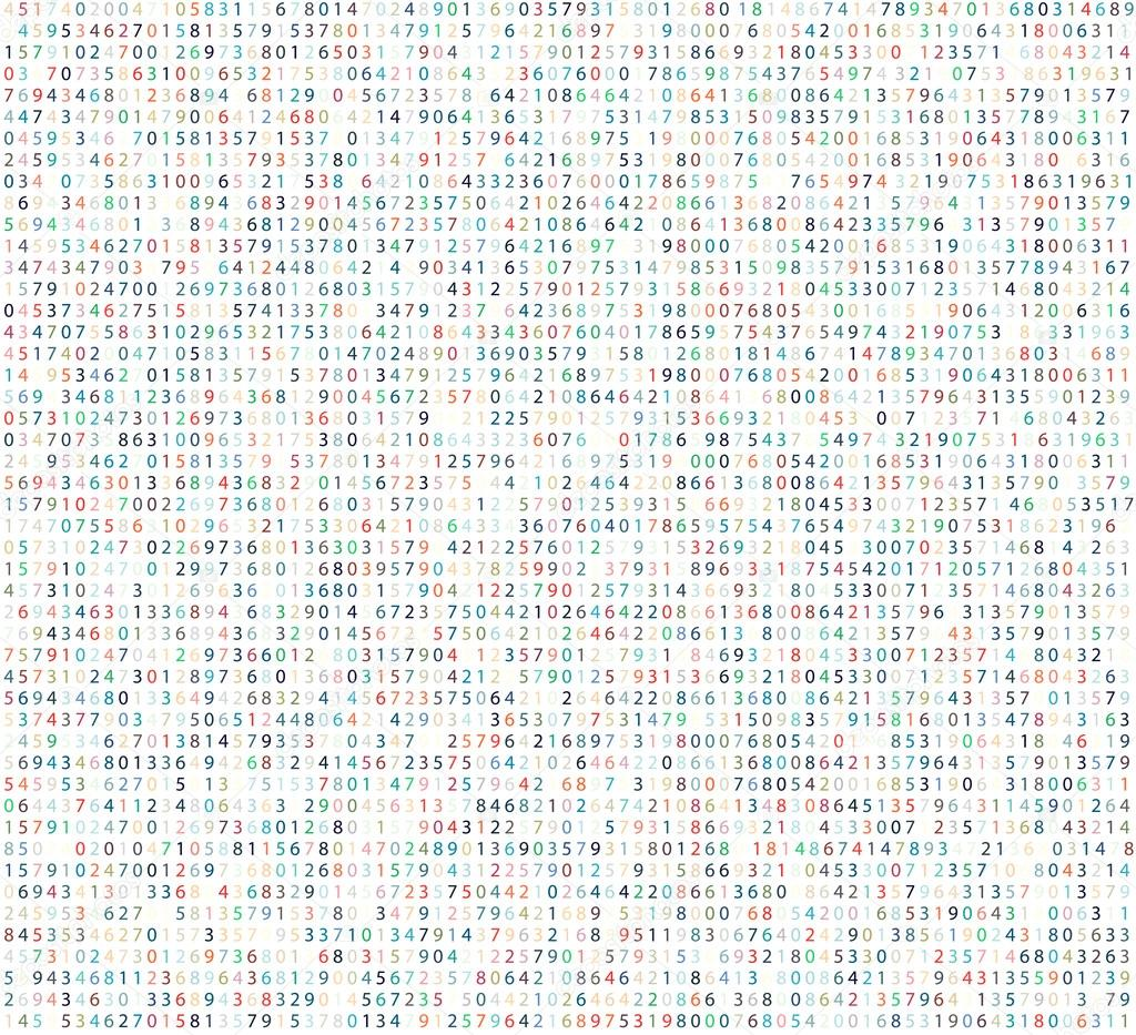Falling Matrix Wallpaper Color Matrix Background With Digits Computer Code For