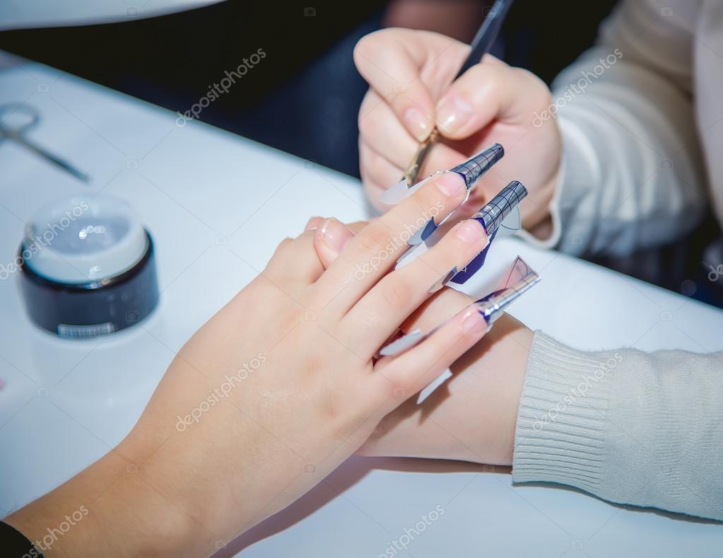 Salon Creation Nail Creation The Beauty Salon Stock Photo Sergantstar 88327086