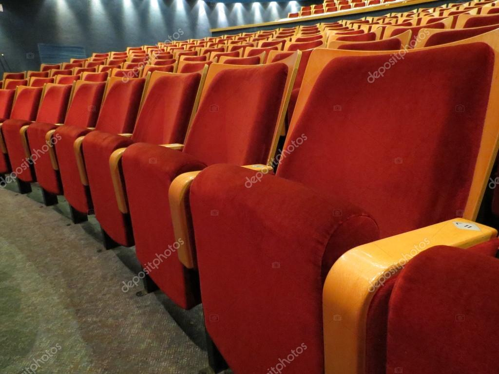 Sessel Theater Roter Sessel In Einem Theater Stockfoto No81nono81no 55962937