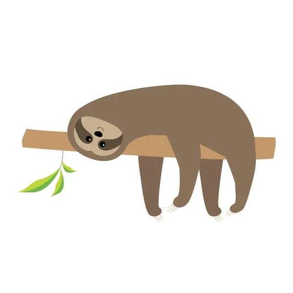 Cute Sloth Wallpaper Sloth Stock Vectors Royalty Free Sloth Illustrations