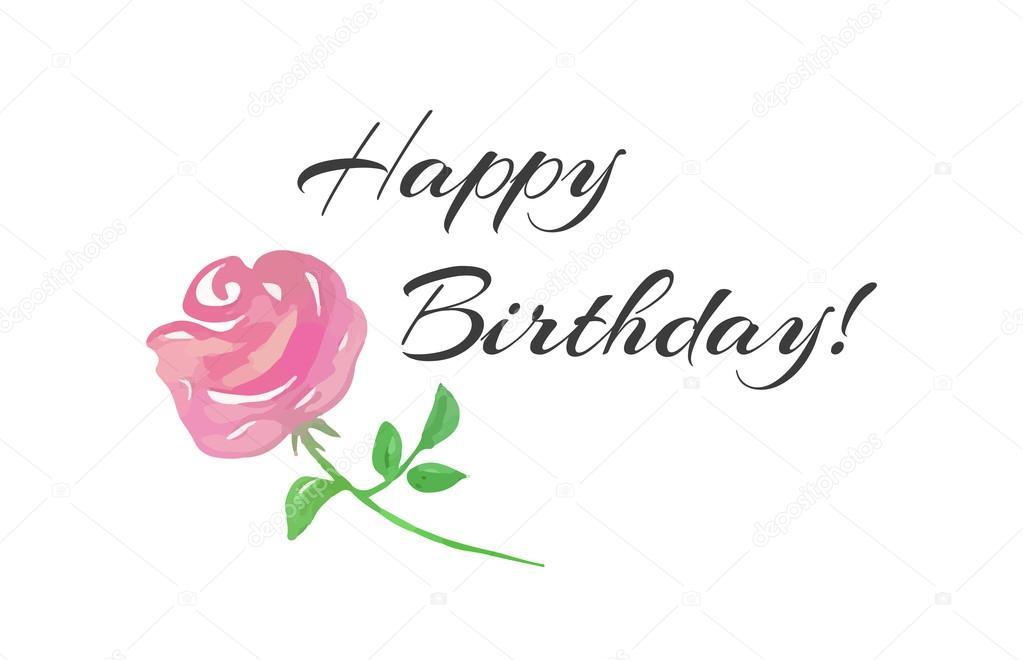 Feliz cumpleaños letras rosadas Letra de cumpleaños feliz y una