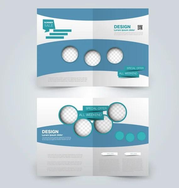 Eid double fold brochure \u2014 Stock Vector © chetananim #12330741 - double fold brochure