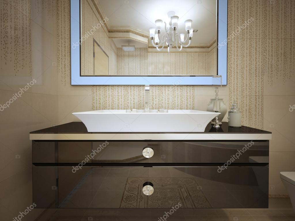 Badkamerverlichting art deco art deco badkamer photograph