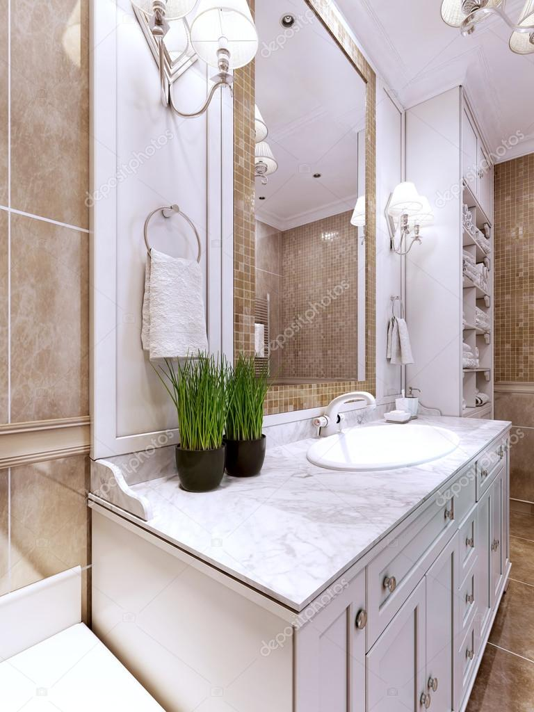 Art Deco Bathroom Art Deco Bathroom Trend Stock Photo Kuprin33 83413398