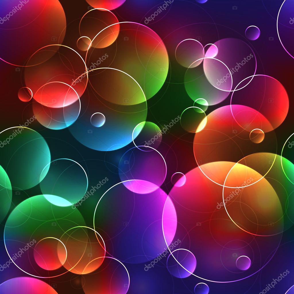 3d Colours Wallpaper Heart Fondo Burbujas De Colores Fondo Transparente Con