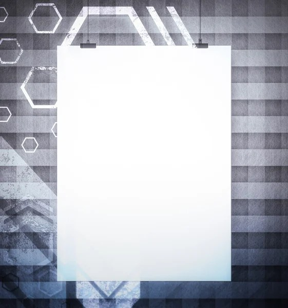 Blank poster Stock Photos, Royalty Free Blank poster Images