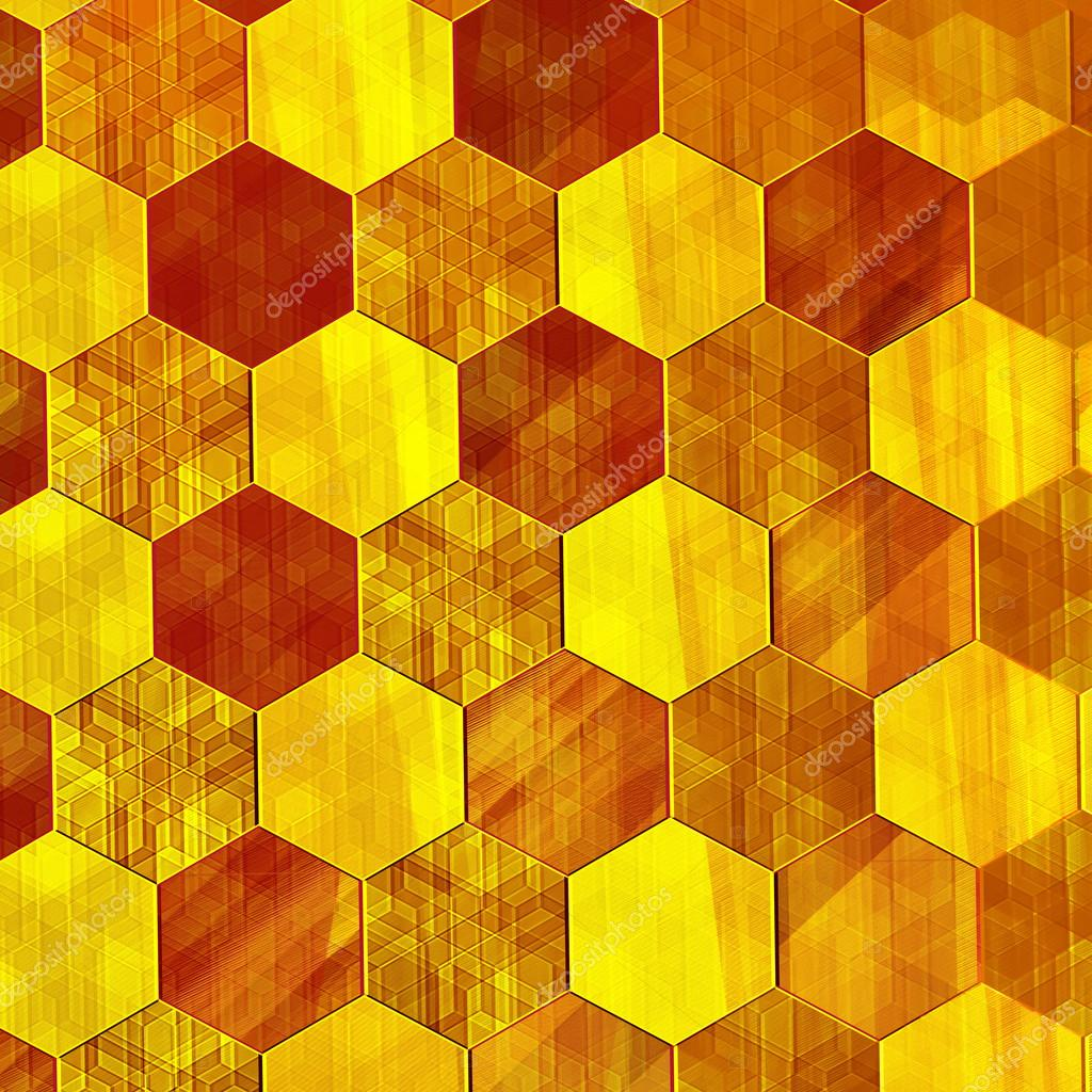 3d Effect Live Wallpapers Abstract Gold Background Modern Design Warm Yellow
