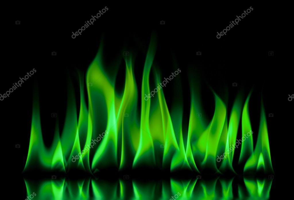 Indigo Car Wallpaper 在黑色背景上的绿色火焰火焰 图库照片 169 3141141 Clashot#67361497