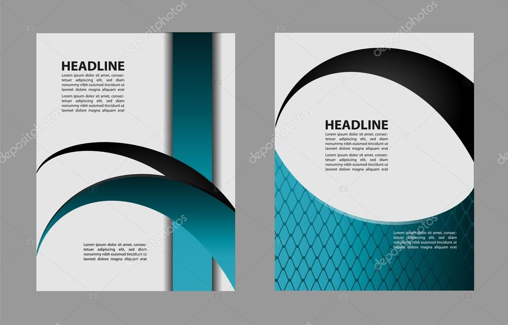 Professional business design layout template or corporate banner