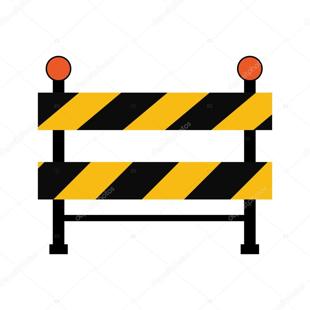 Construction Repair Road Sign Under Construction Repair Icon Vector Graphic Stock