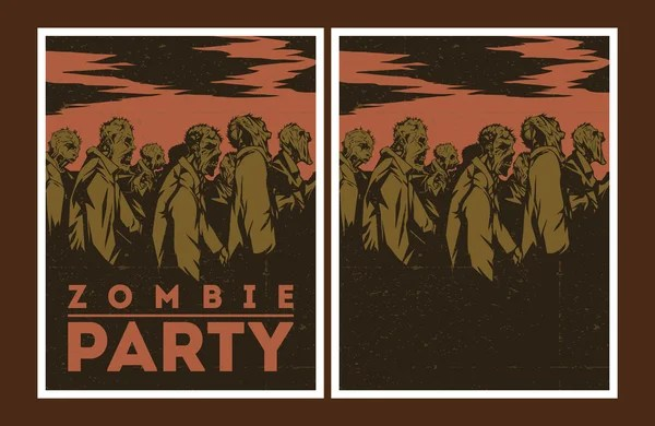 Walking dead birthday invitations ivoiregion zombie decorations filmwisefo