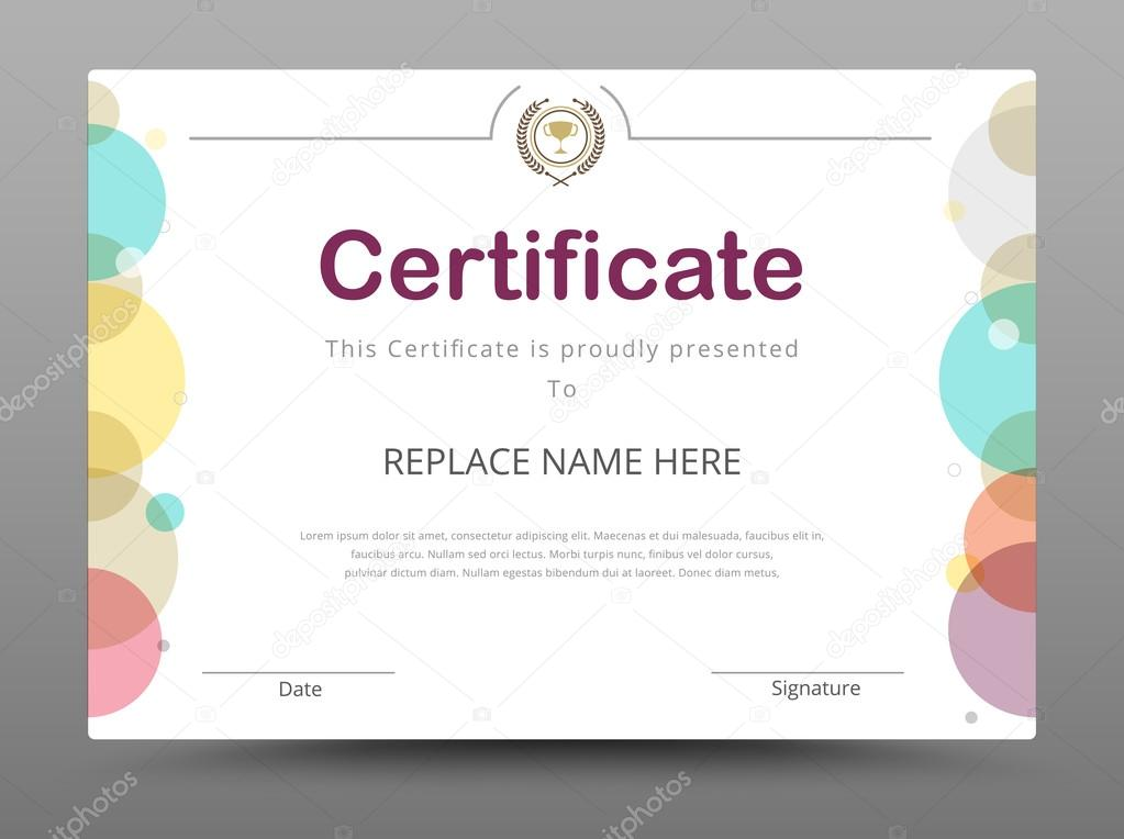 Doc 500386 Free Business Certificate Templates 40 Best STRATEGIC - business certificate templates