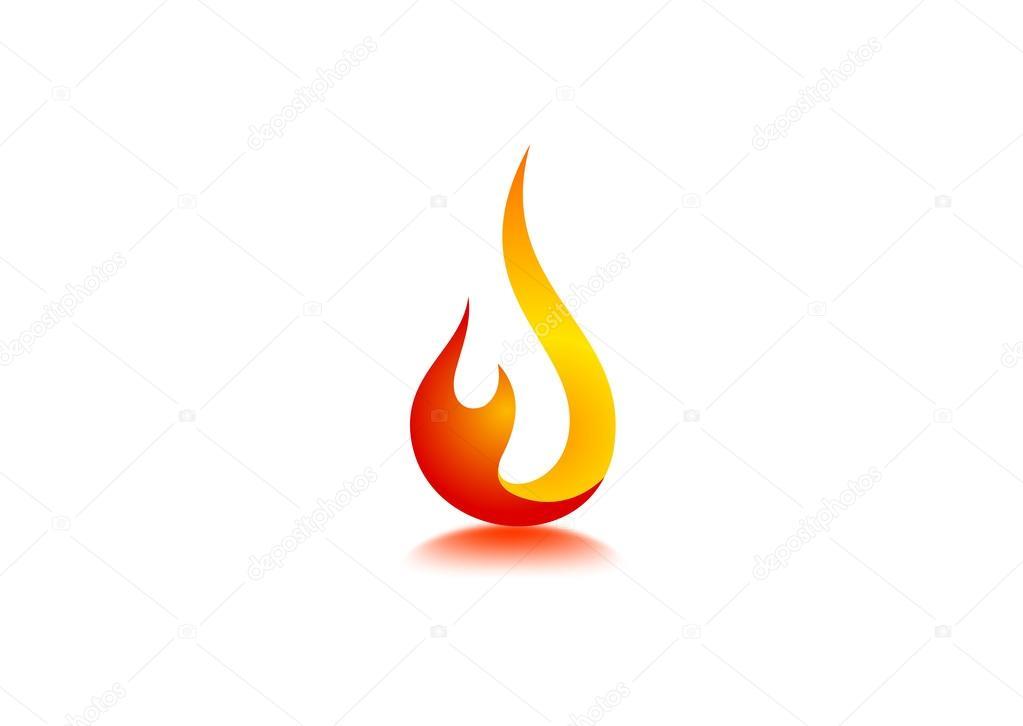 Fire flame Logo \u2014 Stock Vector © breee #59840599 - flame logo