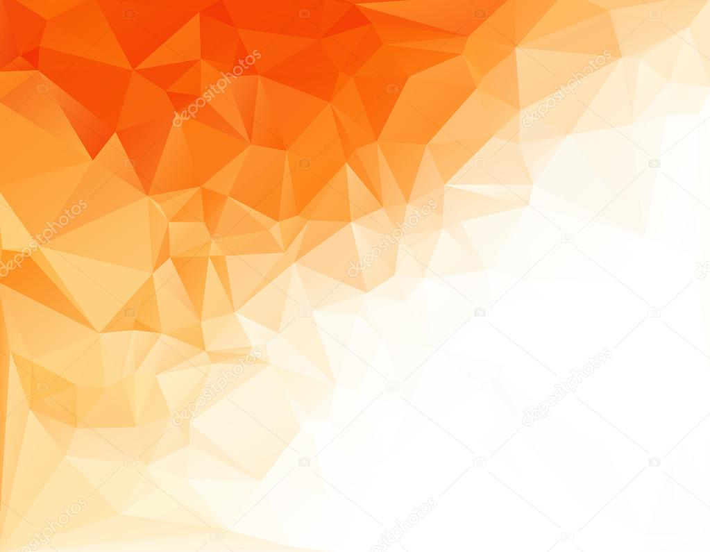 Hd Wallpaper Diwali Light Orange White Light Polygonal Mosaic Background Vector