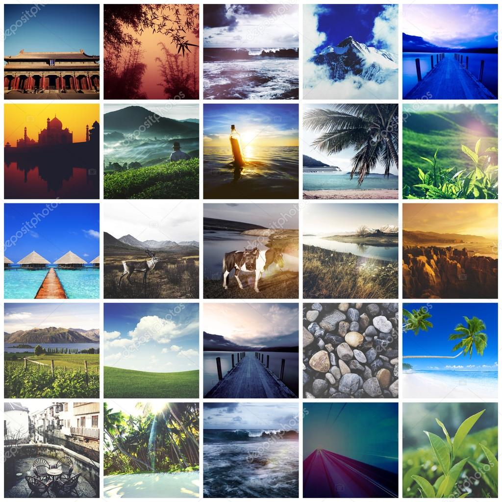 Collage Bilder Collage Of Travel Pictures ⬇ Stock Photo, Image By © Rawpixel #113217460