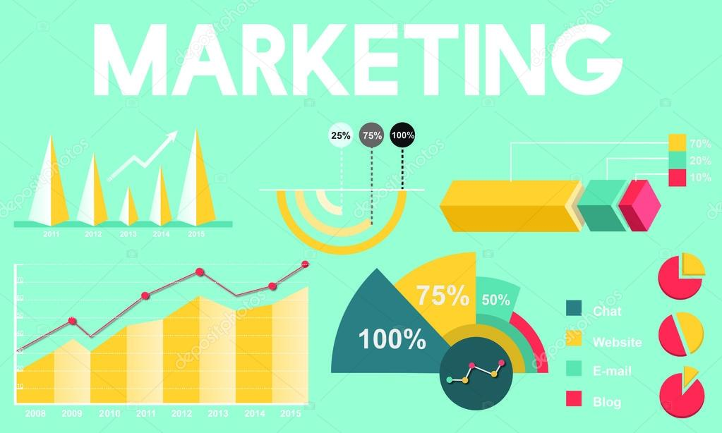 template with Marketing concept \u2014 Stock Photo © Rawpixel #115886252