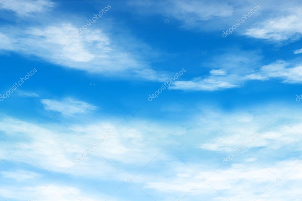 Verano azul cielo fondo nubes suaves \u2014 Fotos de Stock © madorf #73766217 - fondo nubes
