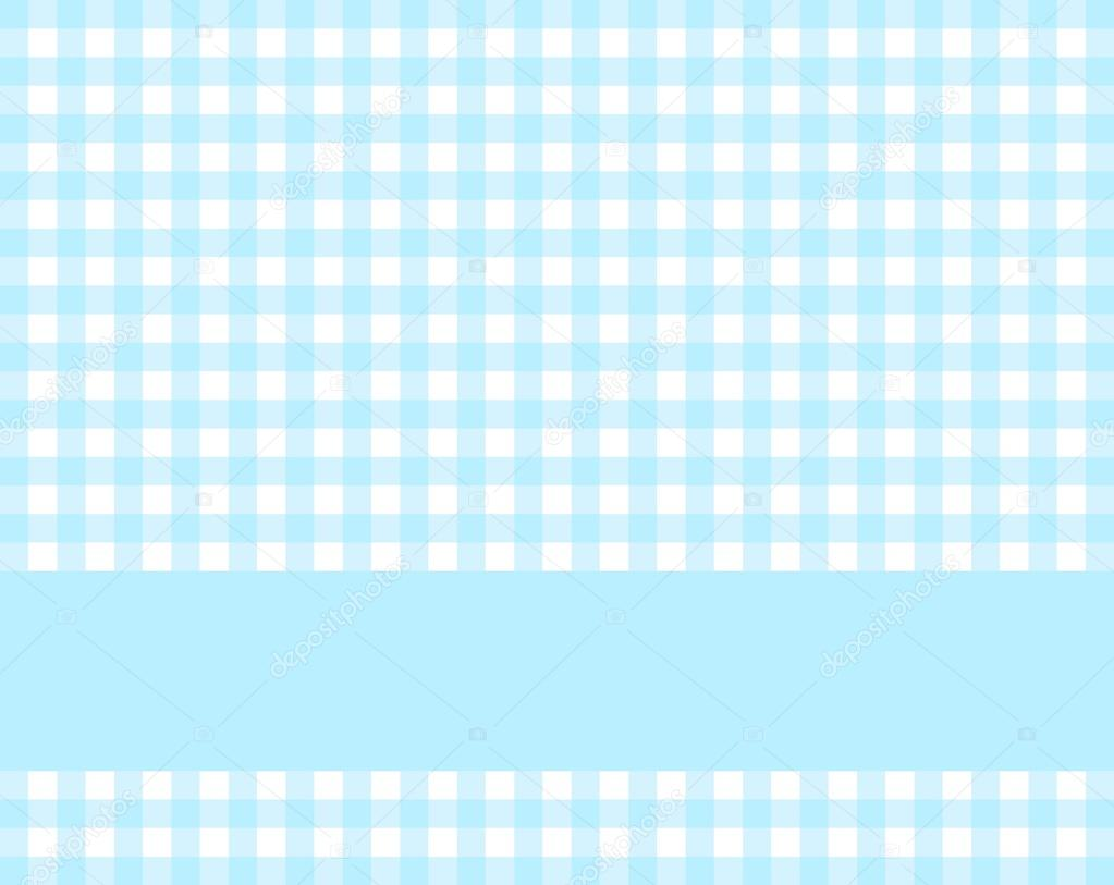 Baby Live Wallpaper Hd Light Blue Tablecloth Pattern With Stripe Stock Photo