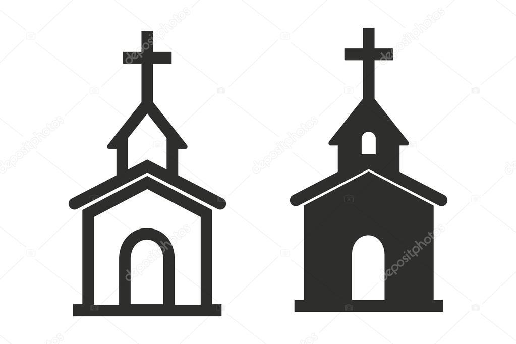 Church - vector icon \u2014 Stock Vector © lovemask #117701030