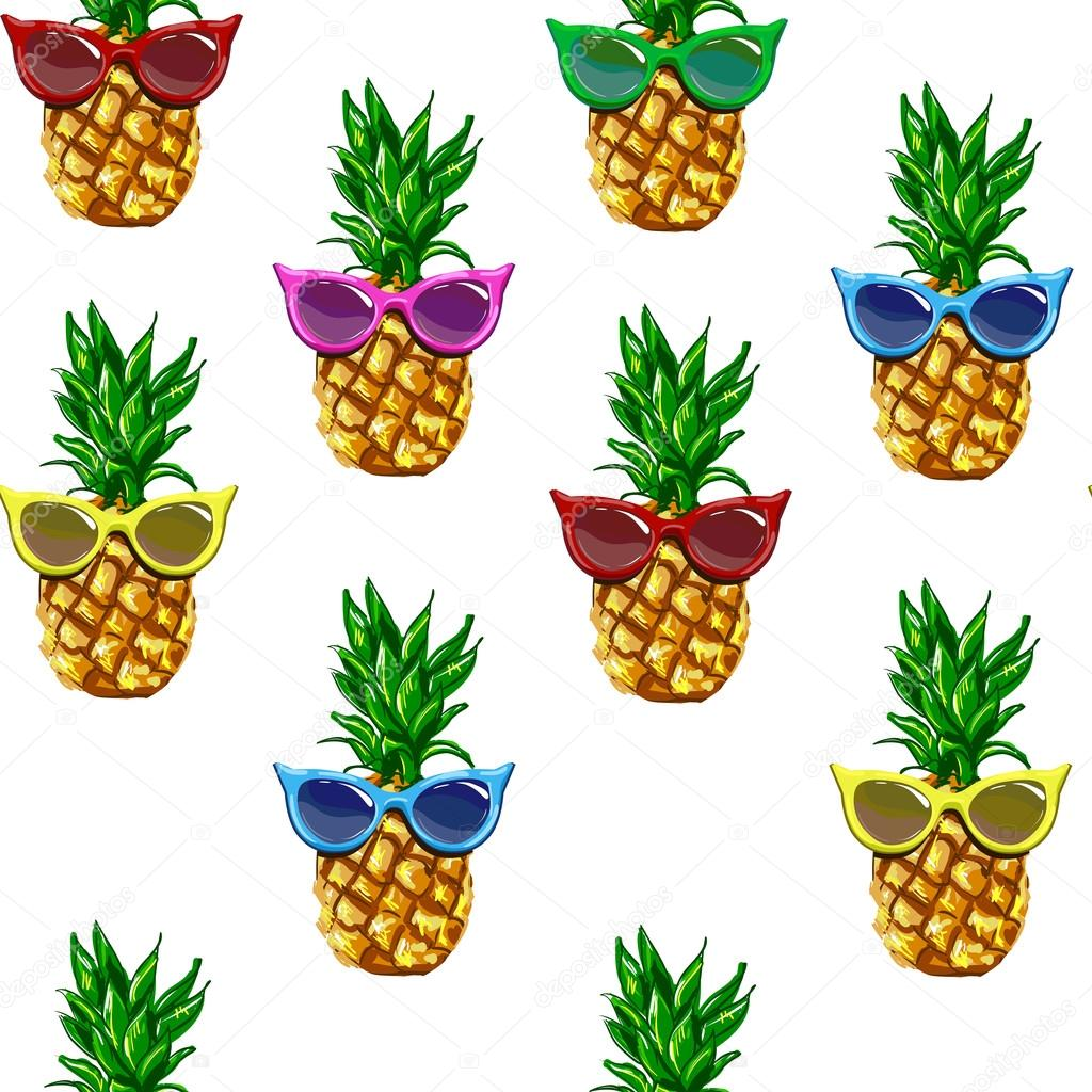 Pineapple With Sunglasses Tumblr Fotos Piñas Tropicales Piñas Tropicales Patrón De Gafas