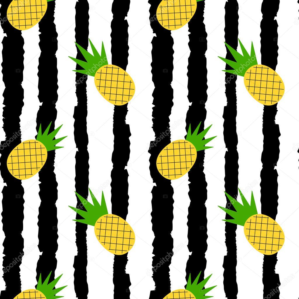 Cute Palm Tree Wallpaper Linda Pi 241 A Amarilla En Rayas Blanco Y Negro Grunge Vector