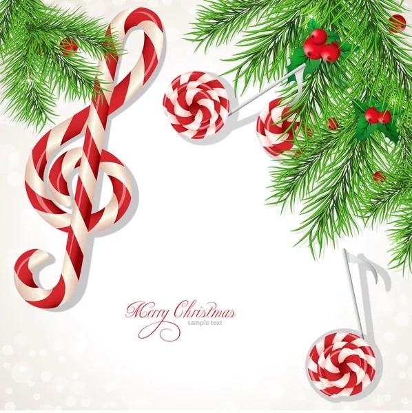 Christmas music background Stock Vectors, Royalty Free Christmas