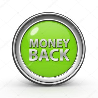 Icône retour circulaire argent sur fond blanc — Photographie iconsmaker © #60884787