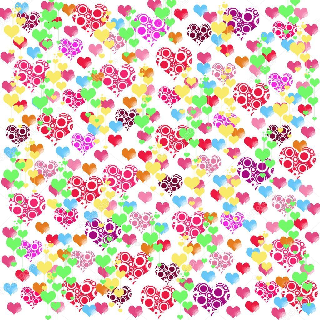 Cute Shopkins Wallpaper Hd Ilustra 231 245 Es Coloridas De Cora 231 245 Es De Amor Sobre Fundo