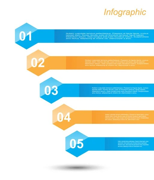 Vector template for an index or table of contents page \u2014 Stock