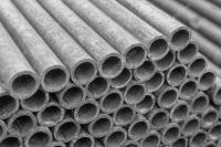 Construo de amianto tubulao de gua  Stock Photo  Mr ...
