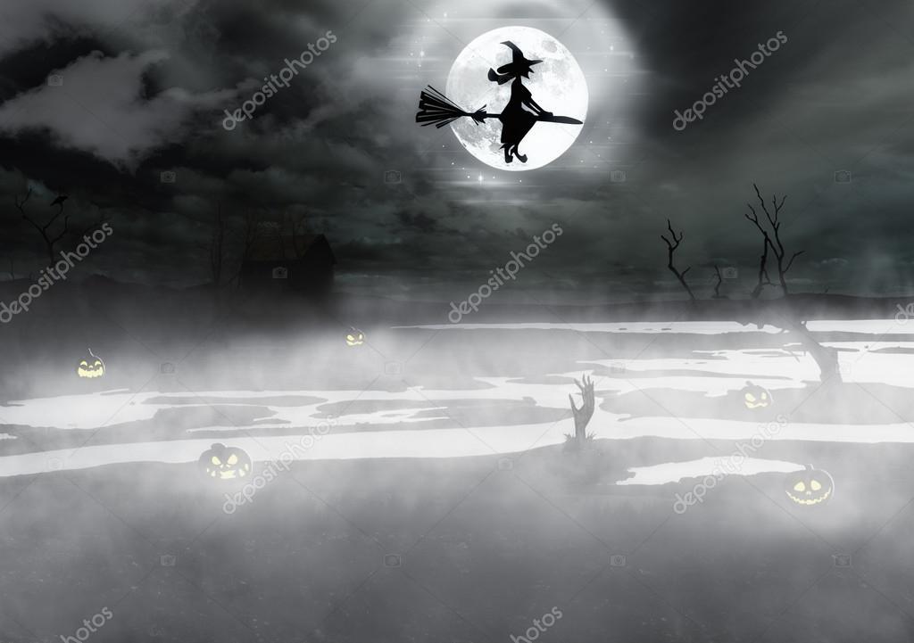 Spooky Halloween background \u2014 Stock Photo © dani3315 #87403772