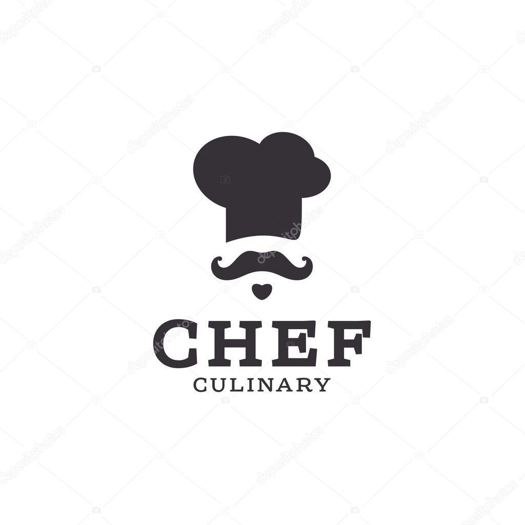 Toque De Chef Chef Cook Logo Icon Toque Chefs Hat Vector Trend Flat